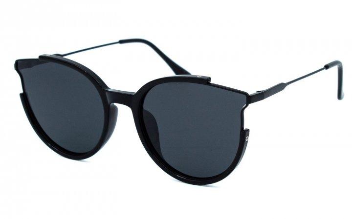 Солнцезащитные очки женские поляризационные SumWin 201989-01 Черные - изображение 1