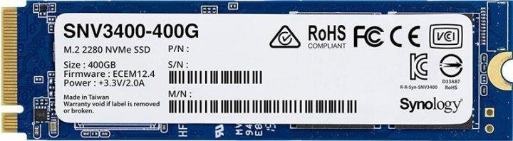 Твердотельный накопитель SSD Synology M.2 NVMe PCIe 3.0 x4 400GB 2280 (JN63SNV3400-400G) - зображення 1
