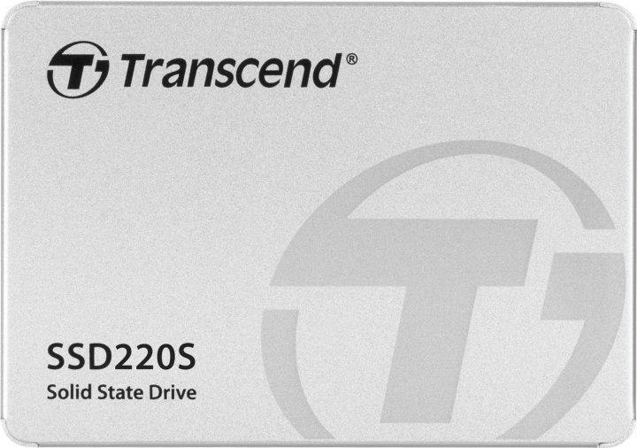 """Transcend SSD220S 960GB 2.5"""" SATA III TLC (TS960GSSD220S) - зображення 1"""