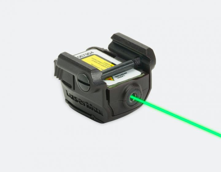 Лазерный целеуказатель LaserMax GREEN MICRO II на планку Пикатинни (зеленый, 532 нМ, двустороннее управление) - изображение 1
