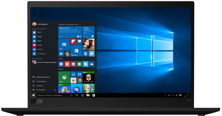 Ноутбук Lenovo ThinkPad X1 Carbon (7th Gen) (20QESCNN00) Black - изображение 1