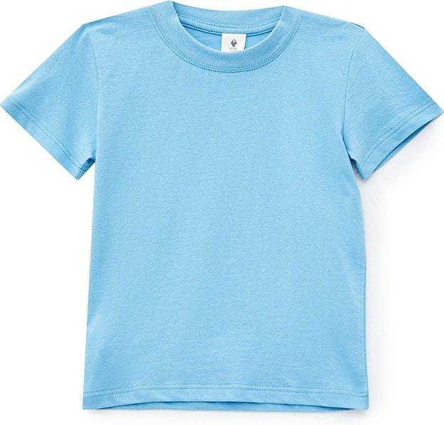 Футболка ROZA 200428 110 см Синя (4824005573651) - зображення 1