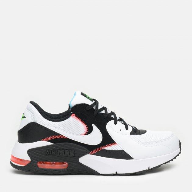 Кроссовки Nike Air Max Excee CD4165-105 40.5 (8) 26 см Белые с черным (194276342077) - изображение 1