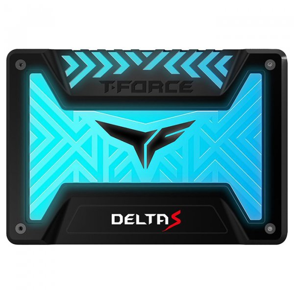 Накопичувач SSD Team T-Force Delta S RGB GAMING LITE 2.5 240GB TLC (T253TR250G3C312) - изображение 1