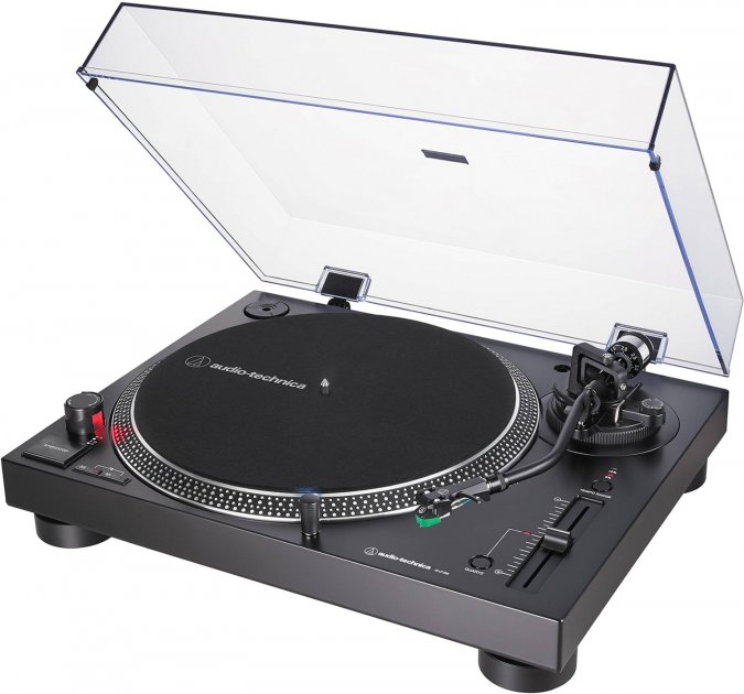 Audio-Technica AT-LP120X USB Black (AT-LP120XUSBBK) - изображение 1