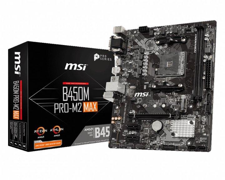 Материнська плата MSI B450M Pro-Max M2 Socket AM4 - зображення 1