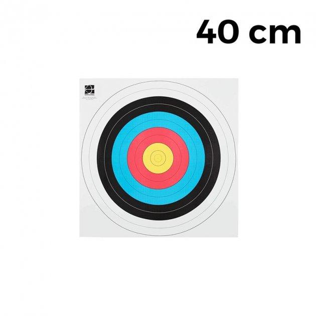 """Мішень JVD """"Fita"""" 40 (10 штук) - зображення 1"""