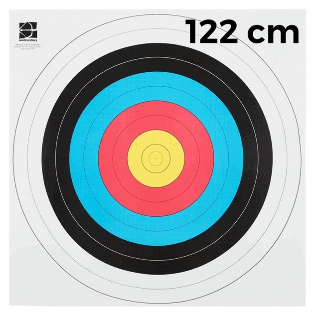 """Мішень JVD """"Fita"""" 122 (10 штук) - зображення 1"""