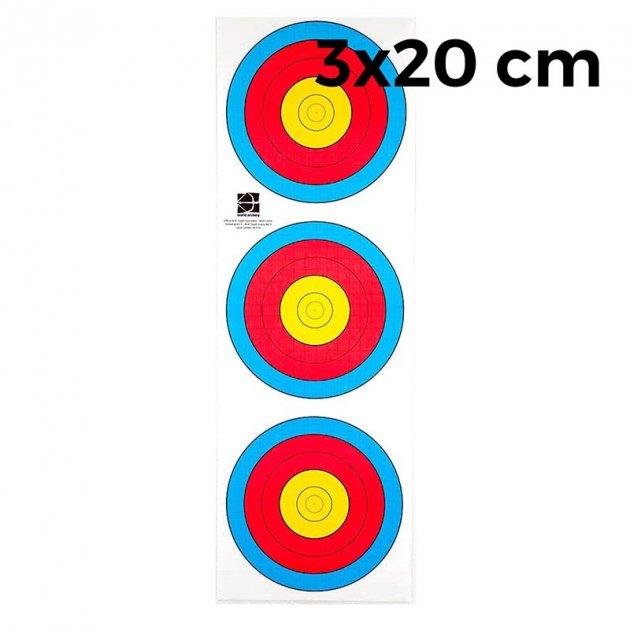 """Мішень JVD """"Fita"""" 3х20 (10 штук) - зображення 1"""