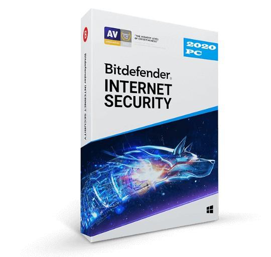 Ліцензійний антивірус BitDefender Internet Security 2020 на операційну систему Windows 7/8/10 (Ліцензія на 3 роки на 3 ПК) - зображення 1