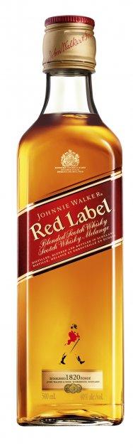Виски Johnnie Walker Red label выдержка 4 года 0.5 л 40% (5000267014401) - изображение 1