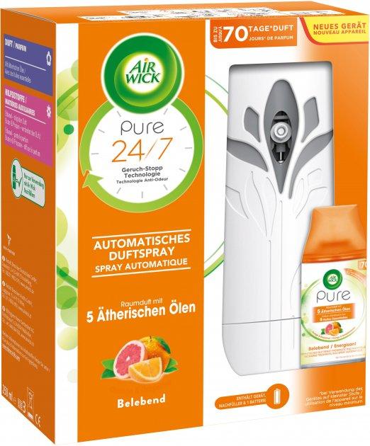 Автоматический освежитель Air Wick Freshmatic Pure Апельсин и Грейпфрут 250 мл (4002448116066) - изображение 1