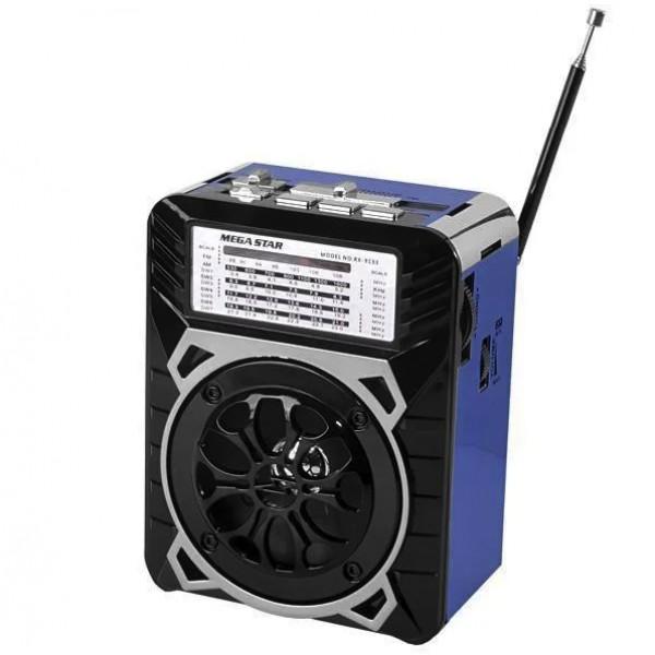 Радіоприймач Golon RX-9133 SD/USB з ліхтарем - зображення 1