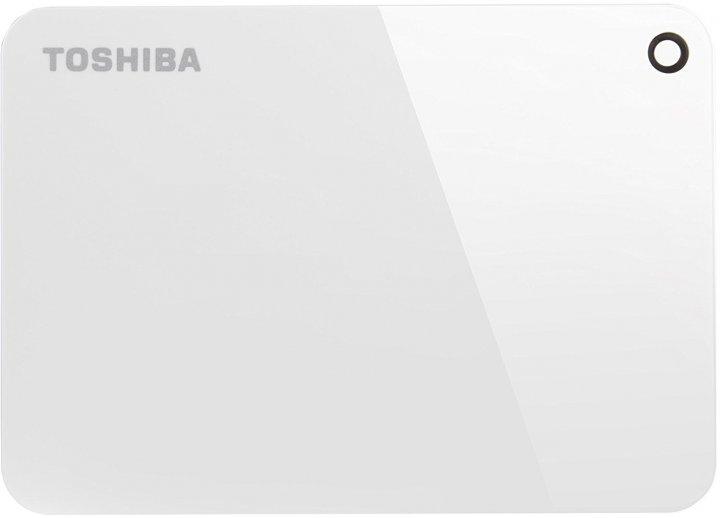 """Жорсткий диск Toshiba Canvio Advance 1TB HDTC910EW3AA 2.5"""" USB 3.0 External White - зображення 1"""