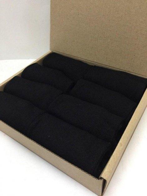 Набор носков Rey в коробке 39-43 8 пар Черный - изображение 1