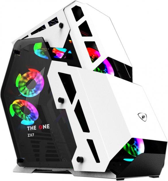 Корпус 1stPlayer ZX7 White - зображення 1