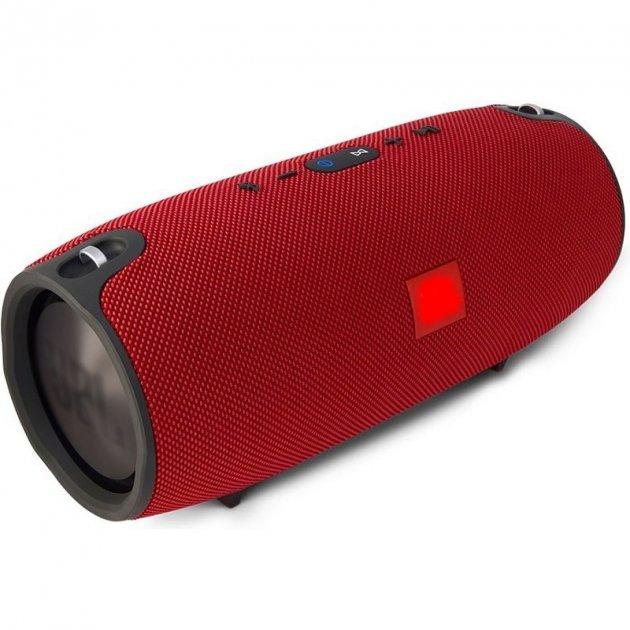 Портативна Bluetooth стерео колонка вологостійка бездротова T&G Xtreme Червона (Xtreme 13 Red) - зображення 1