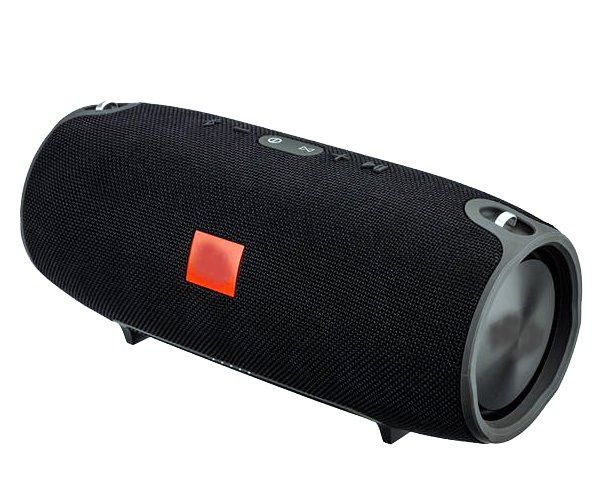 Портативна бездротова bluetooth стерео колонка T&G Xtreme BIG Чорна (Xtreme BIG Black) - зображення 1