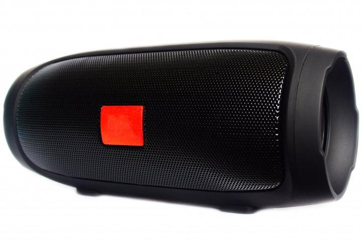 Портативна bluetooth стерео колонка T&G Charge 3 Mini Чорна (Charge 3 Mini Blach) - зображення 1