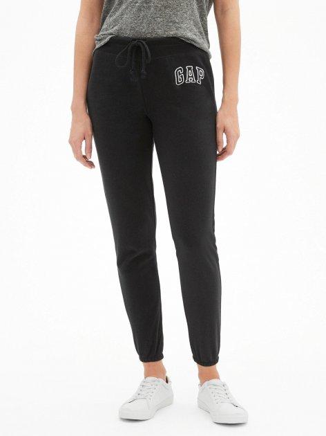 Женские джоггеры GAP спортивные штаны art260934 (Черный, размер S) - изображение 1