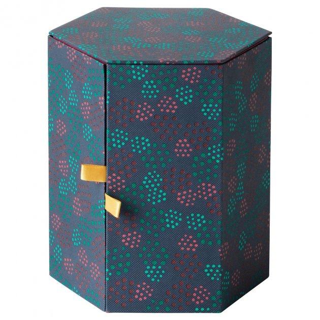 Декоративна коробочка IKEA (ІКЕА) ANILINARE 14х16см зелена червона (704.021.12) - зображення 1