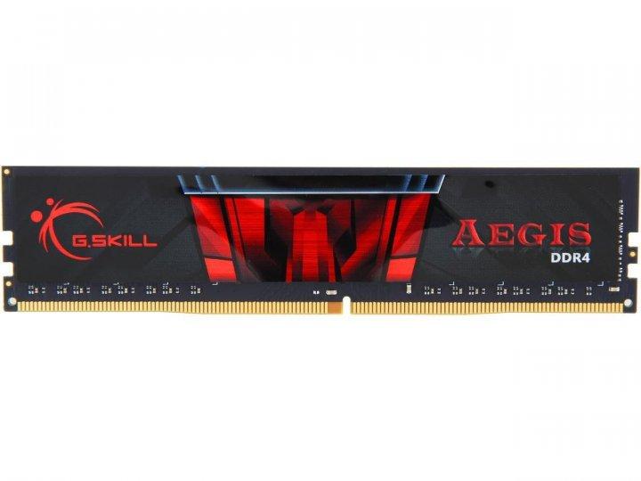 память DDR4 8GB 2666 MHz С19 1,2V G.Skill Aegis (F4-2666C19S-8GIS) - изображение 1