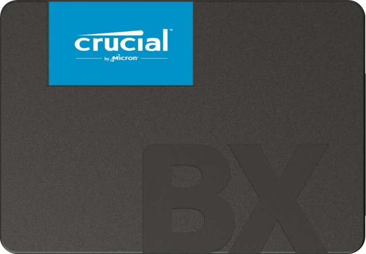 "SSD накопичувач Crucial BX500 120GB 2.5"" SATAIII 3D NAND TLC (CT120BX500SSD1) - зображення 1"