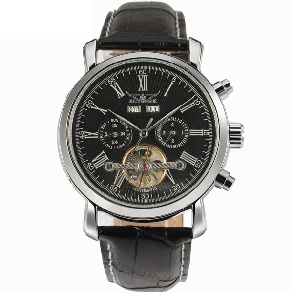 Чоловічі годинники Jaragar Silver Star - зображення 1