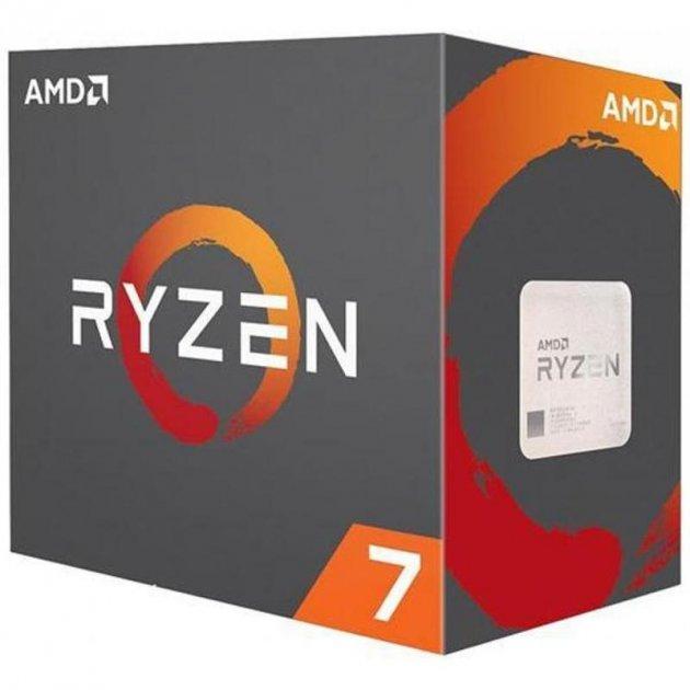 Процессор AMD Ryzen 7 2700X (3.7GHz 16MB 105W AM4) Box (YD270XBGAFBOX) - изображение 1