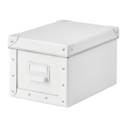 Контейнер для хранения IKEA FJÄLLA 18x26x15 см белый 403.956.79 - изображение 1