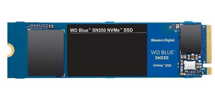 Твердотільний накопичувач SSD WD M. 2 NVMe PCIe 3.0 4x 1TB SN550 Blue 2280 - зображення 1