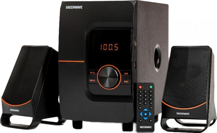 Акустична система Greenwave SA-158BT Black-orange (R0015303) - зображення 1