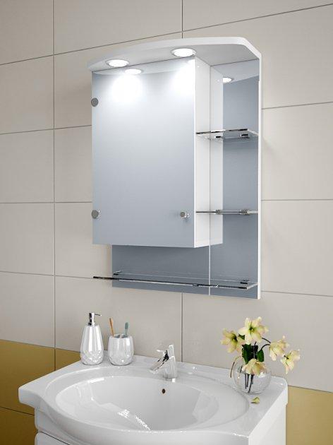 Шкафчик для ванной Модель А 75-SZ 700х500х125мм - изображение 1