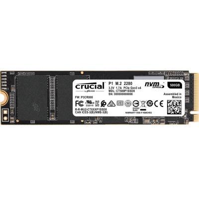 Накопитель SSD M.2 2280 500GB MICRON (CT500P1SSD8) - зображення 1