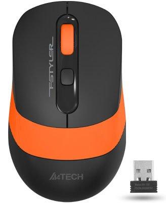 Мышь A4Tech FG10 Wireless Orange (4711421942256) - изображение 1