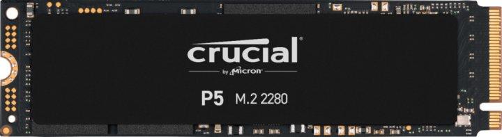 Crucial P5 NVMe 250GB M.2 2280 PCIe 3.0 x4 3D NAND TLC (CT250P5SSD8) - зображення 1