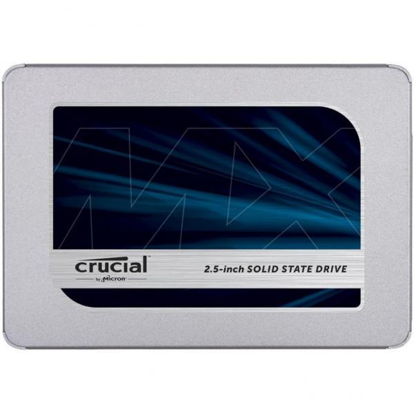 """Накопичувач SSD 2.5"""""""" 250GB MICRON (CT250MX500SSD1) - зображення 1"""