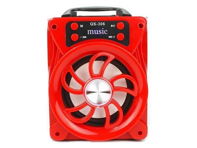 Колонка musik qs 306 с Bluetooth, USB FLASH и радио - изображение 1