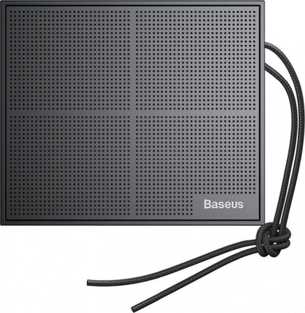 Портативная акустика Baseus E05 Encok Music-cube Wireless Speaker Original Black (NGE05-91) (283) - изображение 1