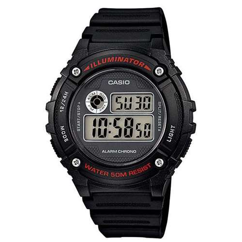 Мужские часы Casio W-216H-1AVEF - зображення 1