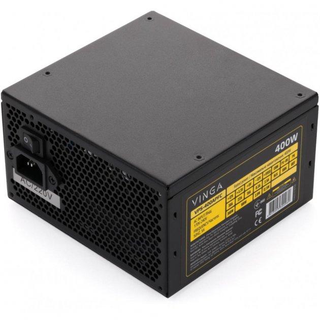 Блок живлення Vinga 400W (VPS-400APFC) - зображення 1