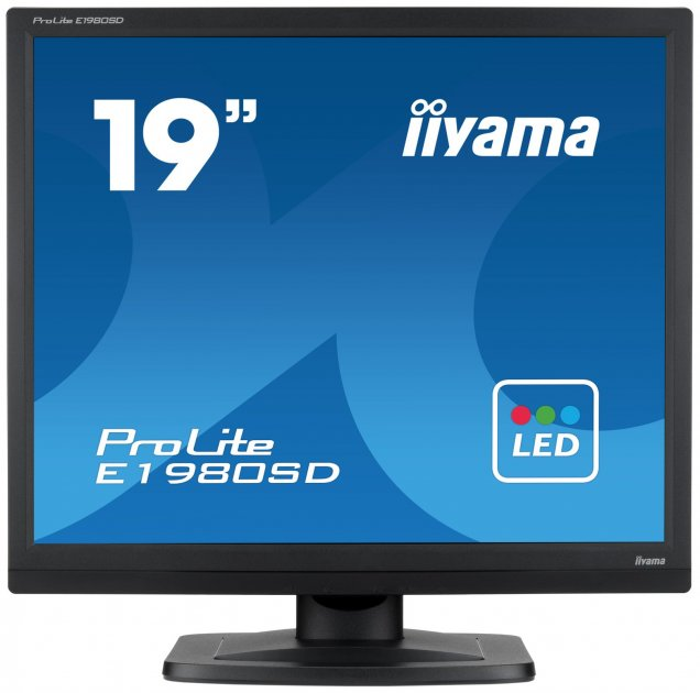 Монітор IIYAMA E1980SD-B1 E1980SD-B1 B/E1980SD-B1 A - зображення 1