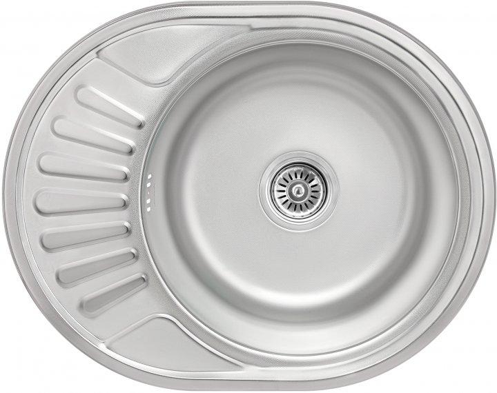 Кухонна мийка LIDZ 5745 Micro Decor 0.8 мм (LIDZ5745MDEC) - зображення 1
