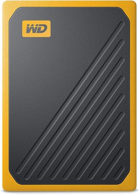 """Western Digital My Passport Go 500GB 2.5"""" USB 3.0 Yellow (WDBMCG5000AYT-WESN) External - зображення 1"""