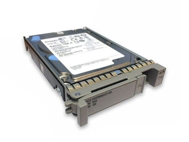 Cisco CISCO Cisco 900GB 6Gb SAS 10K RPM SFF HDD hot plug (PI-UCS-H900G10K12G) Refurbished - зображення 1