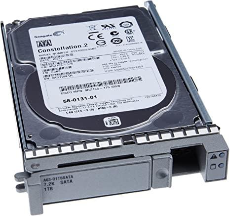 HDD Cisco CISCO 1TB SAS 7.2 K RPM 2.5 inch HDD/hot plug (UCS-HD1T7KS2-E) Refurbished - зображення 1