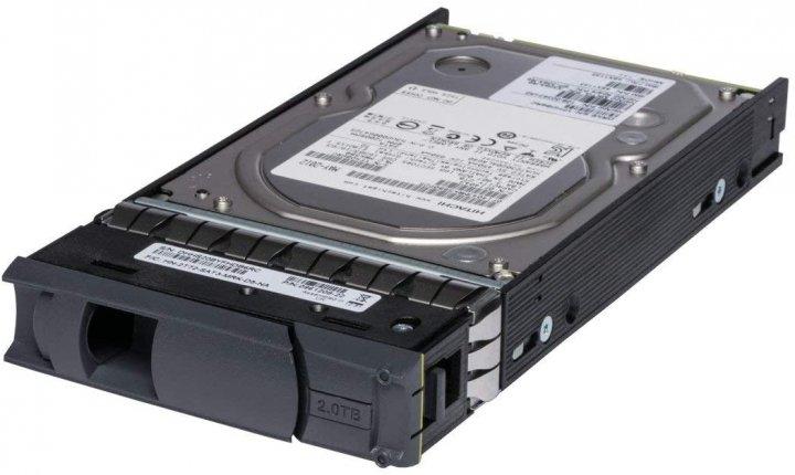 HDD NetApp NETAPP 2TB 7.2 K 3.5 INCH SATA HDD (H3U20006472S-HITACHI) Refurbished - зображення 1