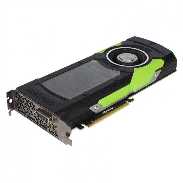 Відеокарта HPE HPE nVIDIA Quadro M6000/24GB/GPU (855179-001) Refurbished - зображення 1