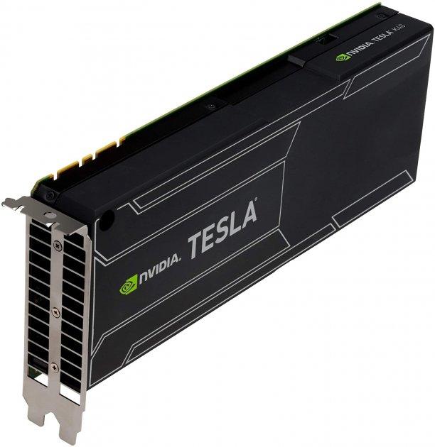 Відеокарта HP HP NVIDIA Tesla K40 Compute Processor 12GB - (F1R08A) Refurbished - зображення 1