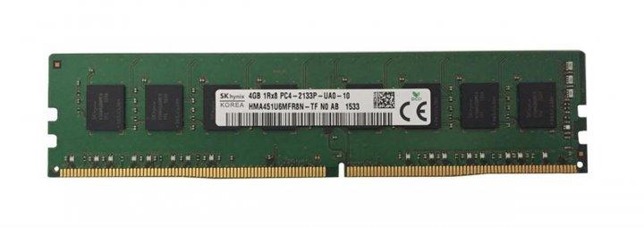Оперативная память Hynix HYNIX 4GB (1X4GB) 1RX8 PC4-17000P-U DDR4-2133MHZ UDIMM (HMA451U6MFR8N-TF) Refurbished - изображение 1